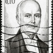 Stamp Prince Pierre de Monaco - Stock Photo