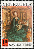 Stamp Navidad 1967 — Stock Photo
