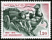 Stamp Loi Grammont — Stock Photo