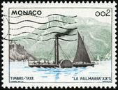 Stamp La Palmaria — Stock Photo
