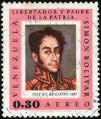 Stamp Jose Gil De Castro 1825 — Stock Photo