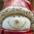 Cute snowman — Stock Photo