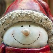 Stock Photo: Cute snowman