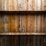 Empty wood shelf — Stock Photo #20860845