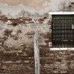Wall of brick and window — Stock Photo #23273696