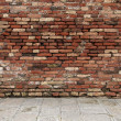 Room with brick wall — Stockfoto #23273840
