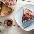 Sweet banana cake - Foto Stock