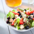 Diet and healthy mediterranean salad — Stock Photo #29659869