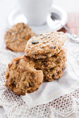 Delicious hand made cookies — Stock Photo