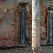 Shabby facade — Stock Photo