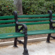 Parkbench — Stock Photo