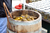 Pickled gherkin — Stock Photo