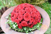 Red rose ball — Stock Photo