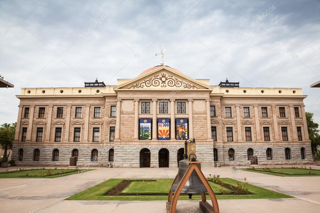 Arizona State House And Capitol Building In Phoenix Az