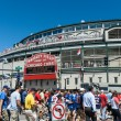 Stock Photo: Wrigley Field, Chicago, Illinois