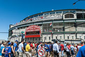 Wrigley Field, Chicago, Illinois — Stock Photo