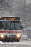Blizzard in Washington, DC — Stock Photo