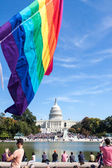 Gay Pride Festival in Washington, DC — Stock Photo