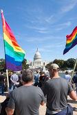 在华盛顿,同性恋骄傲节直流 — 图库照片