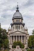 Capitolio del estado de illinois edificio, springfield — Foto de Stock