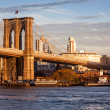 Puente de Brooklyn en Nueva York — Foto de Stock