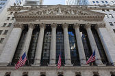New York Stock Exchange — Stock Photo