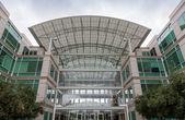 苹果公司总部设在加州库比蒂诺 — 图库照片