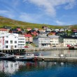 City and harbor, Honningsvag - Honningsvaag, Nordkapp municipality, Norway — Stock Photo #12547431