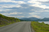 Road to Nordkapp - Northcape, Norway — Stock Photo