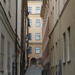 Stockholm Street, Sweden - Stock Photo