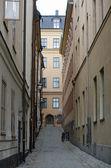 Stockholm Street, Sweden — Stock Photo