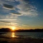 Sunset on summer sky, Finland — Stock Photo #17469247
