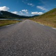 Summer road to Nordkapp - Northcape, Norway — Stock Photo