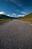 夏天路到 nordkapp-northcape、 挪威 — 图库照片