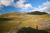 人体轮廓与阴影,挪威 — 图库照片