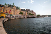 Summer Stockholm, Sweden — Stock Photo
