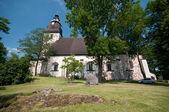 Castle and church in Turku, Finland — Stock Photo