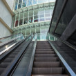 Outdoor escalator — Stock Photo