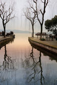 The west lake in spring — Stock Photo