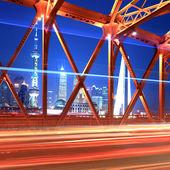 Beautiful night shanghai — Stock Photo