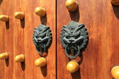 Oriental door knocker — Stock Photo