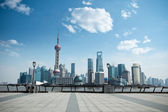 Daytime scene of shanghai — Stock Photo
