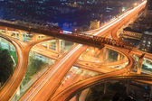 Urban road landscape — 图库照片