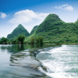 Stock Photo: Beautiful pastoral scenery in yangshuo