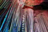 Silver cave — Stock Photo