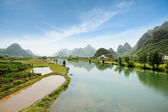 China yangshuo scenery — Stock Photo