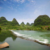 Rurality in yangshuo — Stock Photo