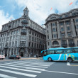 Stock Photo: Excellent historical buildings in shanghai