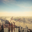 Development in shanghai - Stock Photo