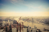 Development in shanghai — Stock Photo